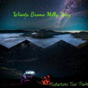 wisata bromo milky way