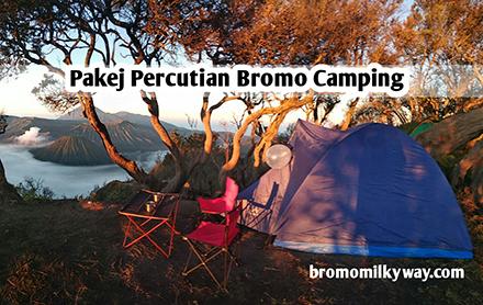 Pakej Percutian Bromo Camping
