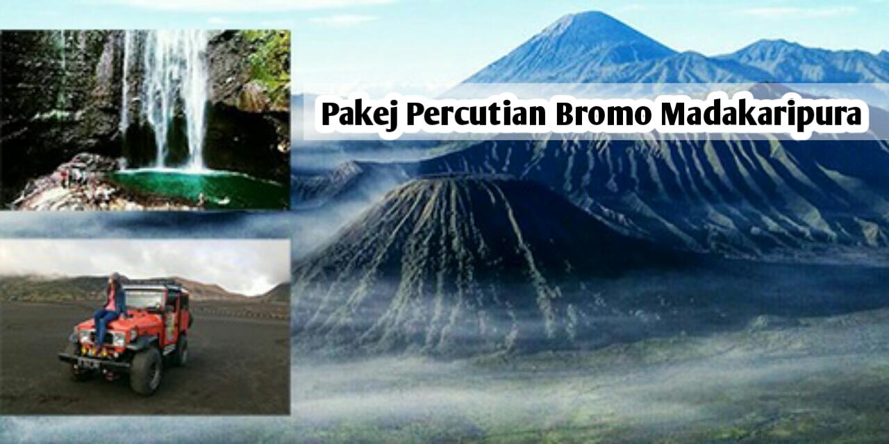 Pakej Percutian Bromo Madakaripura